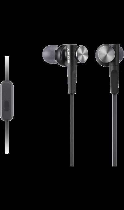 Проводная гарнитура Sony MDR-XB50AP, черная